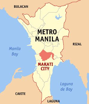 Map of Makati City