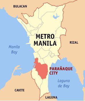 Map of Paranaque City